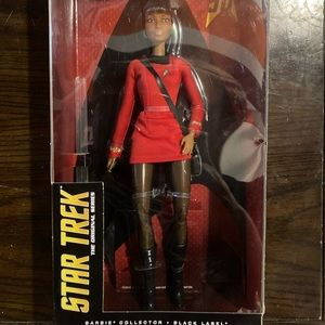 New Star Trek 50 Anniversary Uhura Barbie Doll